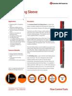 SLXA Sliding Sleeve PDS