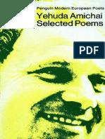Amichai, Yehuda - Selected Poems