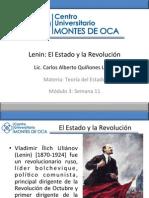 Lenin. El Estado y La Revolucion