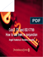 Cobit Itil and Bs7799