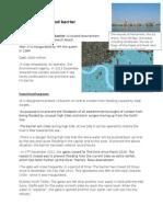 River Thames Flood Barrier Note