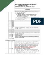 Rekapitulasi Hasil Identifikasi Instrumen Anwar