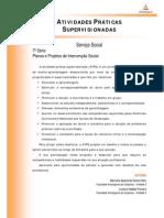 ATPS Planos Projetos Intervencao Social