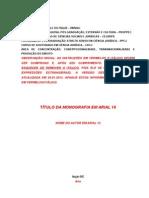 Modelo de Monografia Qualificacao a Tese Doc