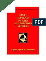 NINJA Red Book of Rare End Precious Secrets