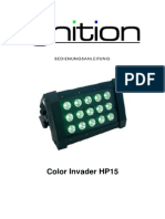 Manual Ignition Colour Invader HP 15