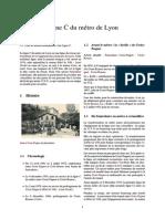 Ligne C Du Métro de Lyon