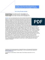 Berardy - Life Cycle Assessment of Soy Protein Isolate