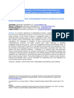 Wang - Challenges in Validation of Sustainable Products and Services in the Green Marketplace