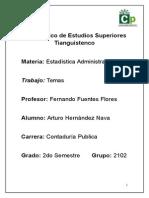 Estadística Administrativa Unidad 2