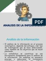 Análisis de la Información para la investigación