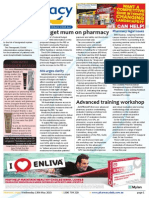 Pharmacy Daily for Wed 13 May 2015 - Budget mum on pharmacy, MA urges clarity, Advanced training workshop, Health & Beauty and much more