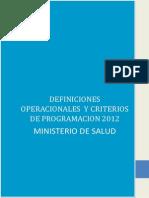 Definiciones Operacionales y Criterios d - Jchauca