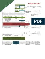 Diseño de tuberías con hojas de cálculo