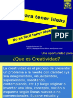 Ideas Creatividad