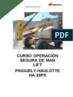 Operación segura de man lift_Word
