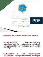 Corrupcion en La Administracion Publica