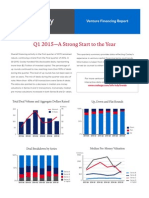 Cooley Venture Financing Report Q1 2015
