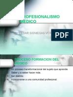 Profesionalismo Medico