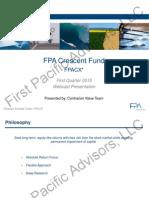 2015 q1 Crescent Fund