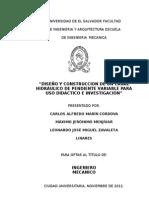 Diseño y Construccion de Un Canal Hidraulico_fluidos2