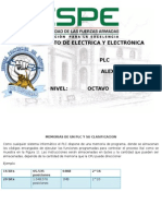 PLC - Memorias