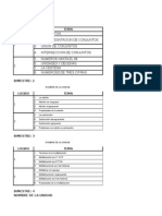 MATEMATICA 2° A 5° 2015 parcelacion