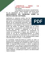 13.-MARCO JURÍDICO PARA LA PROTECCIÓN DEL SOFTWARE.docx