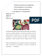 Pisos Climaticos de La Provincia de Bolivar