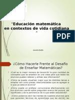 Educacion Matematica