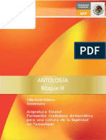 ANTOLOGIA FCDCL.3