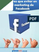 9 Errores Que Evitar Er El Marketing de Facebook