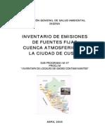 Informe Inventario Cusco