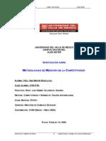 Metodologías Medición Competitividad C&C 13 February 2009
