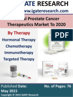 Global Prostate Cancer Therapeutics Market to 2020