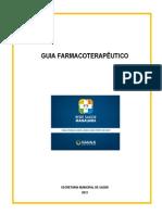 Guia Farmacoterapeutico Semsa 20131
