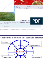 Atencion y Satisfaccion Del Cliente ( La Forchetta )