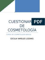 Cuescosmtionario de Cosmetologia