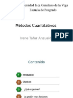 Métodos Cuantitativos