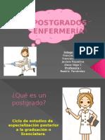 POSTGRADOS-ENFERMERÍA