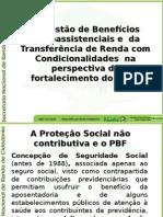 Gestão e Benefícios Socioassistenciais