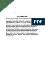 Reporte de Cien Años de Soledad