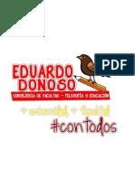 Eduardo Donoso - Consejeria de Filosofía y Educación