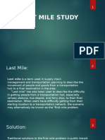 Last Mile Study