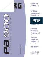 Pa900 Upgrade Manual v120 (EFGISCJ)