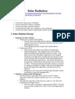 Solar Radiation.doc