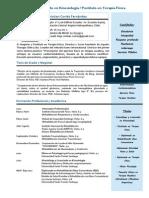 Curriculum 2015 MSc Cristian Cortés