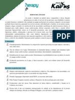 Información Aquatic Therapy Chile 2015