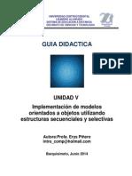 Guia Didactica de La Unidad v. Lapso 2014_1
