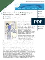 Business Modeling Using the UML - Heumann